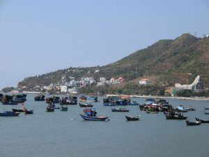 Vung Tau port town