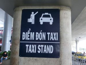 Take the taxi to the city