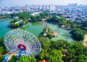 Ho Chi Minh Dam Sen Park